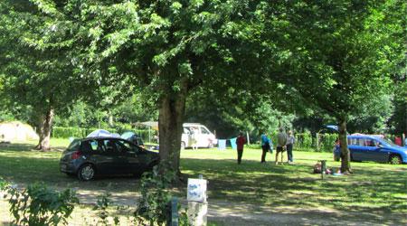Emplacement pour Caravane, Camping-Car et tente